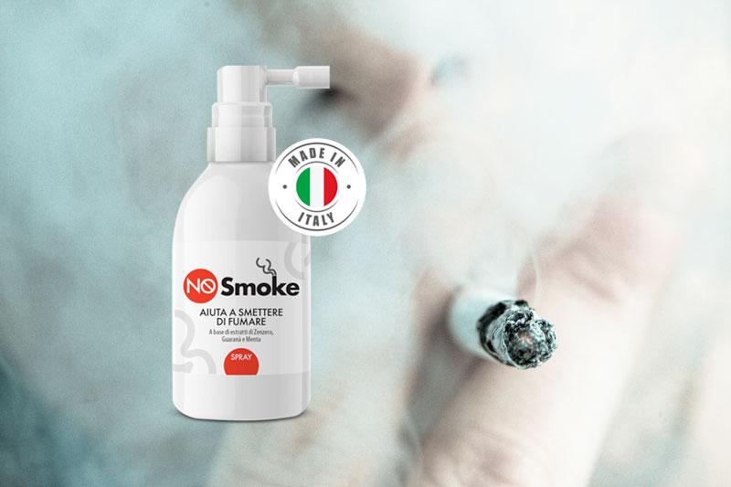 Nosmoke spray per smettere di fumare